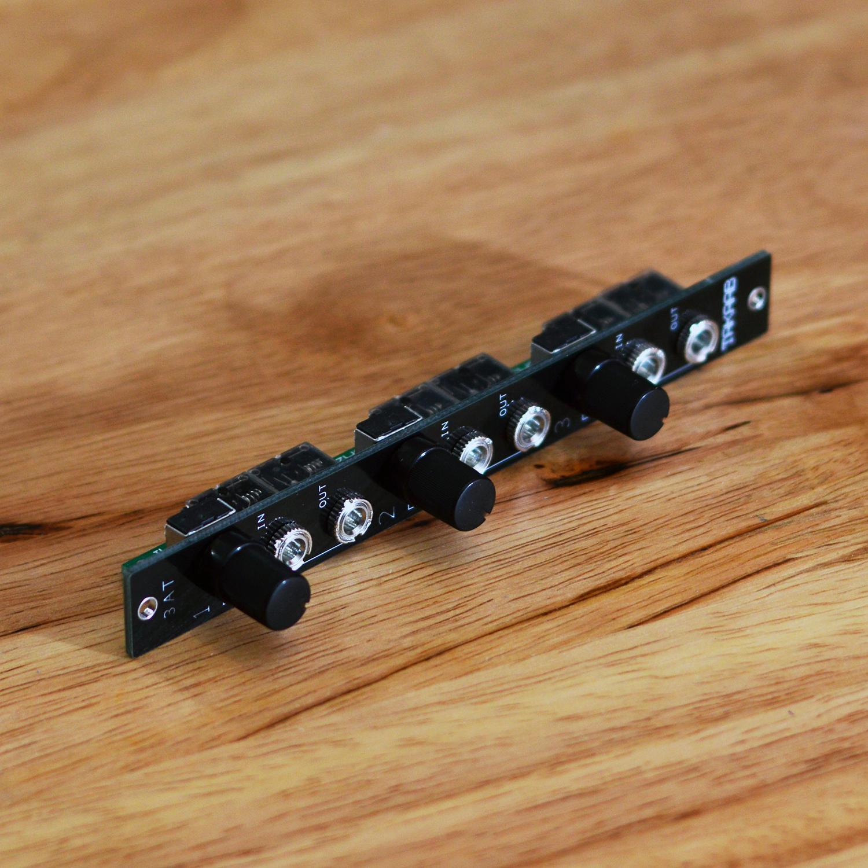 FAST /& FREE TAKAAB 3AT 3 Passive Attenuators Eurorack Synthesizer Module