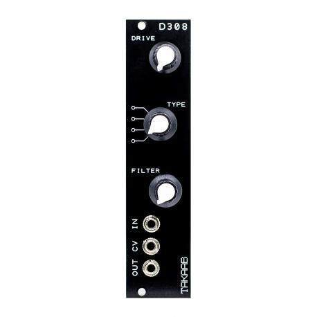 ซื้อ TAKAAB D308 Vintage Distortion Eurorack Synthesizer Module (Black, Pre Assembled, 6hp) ออนไลน์