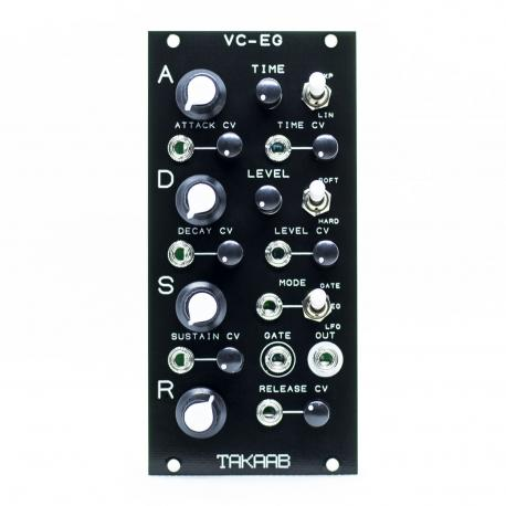 ซื้อ Takaab VC-EG - Voltage Controlled Looping ADSR Envelope Generator (Black, Pre Assembled, 12hp) ออนไลน์