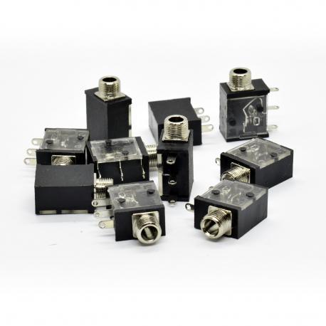 ซื้อ 10x PJ323M Horizontal Eurorack Mono Jack Sockets ออนไลน์