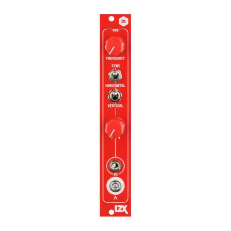 ซื้อ LZX Cadet IX VCO PCB + Panel (Red, Part Kit / PCB and Panel, 4hp) ออนไลน์