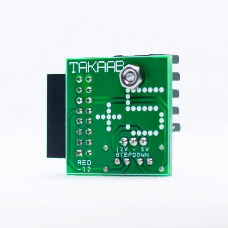 ซื้อ TAKAAB +5 - Voltage Stepdown for Eurorack Modular Systems  (Pre Assembled) ออนไลน์