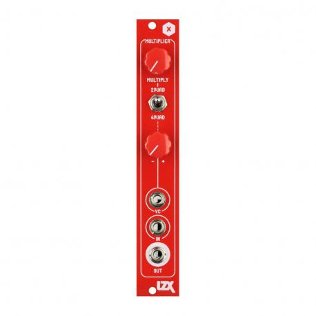 ซื้อ LZX Cadet X Multiplier PCB + Panel (Red, Part Kit / PCB and Panel, 4hp) ออนไลน์
